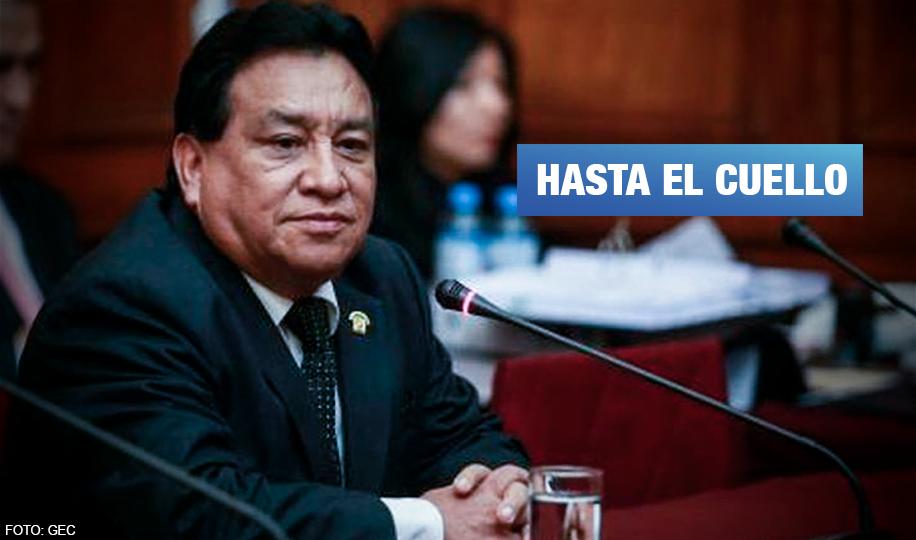 Testigos señalan a José Luna como financista de campañas de Los Cuellos Blancos en el CNM