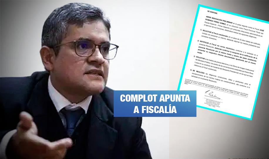 Fiscal cercana a Chávarry detrás de la indagación a Domingo Pérez