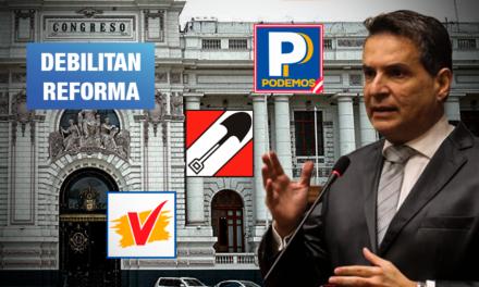 Se oponen a cancelar inscripción de partidos infractores en reforma sobre financiamiento