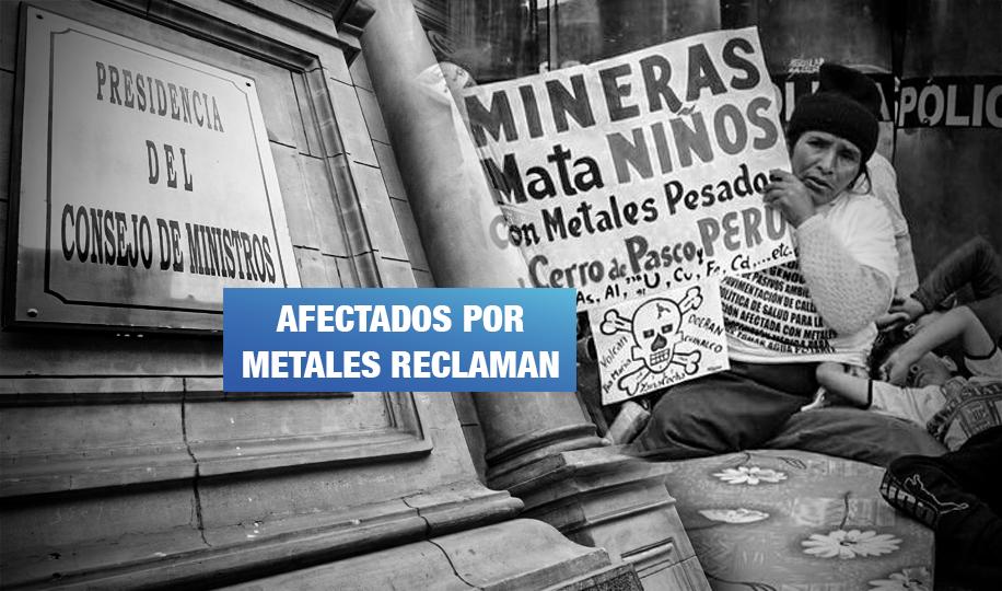 Gobierno se rehúsa a reconocer metaloides y sustancias químicas como contaminantes
