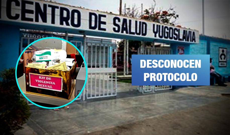 Centros de salud de Chimbote no cuentan con kit de emergencia para víctimas de violación
