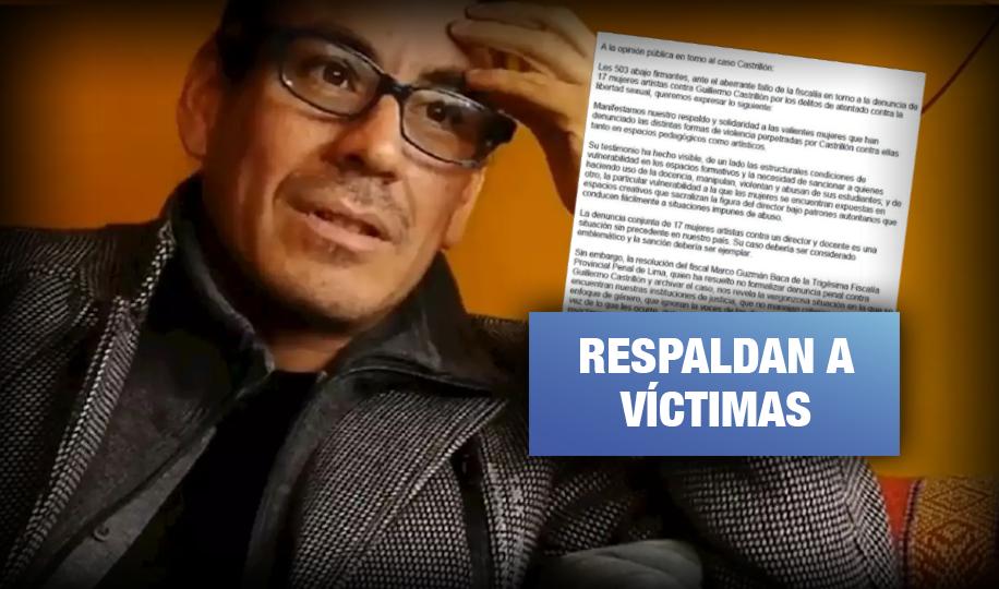 Caso Castrillón: Más de 500 firmas en contra de archivar denuncias por violencia sexual