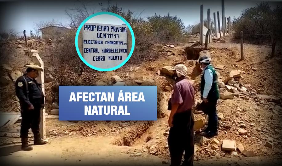 Realizan obras no autorizadas en Reserva Ecológica de Chaparrí