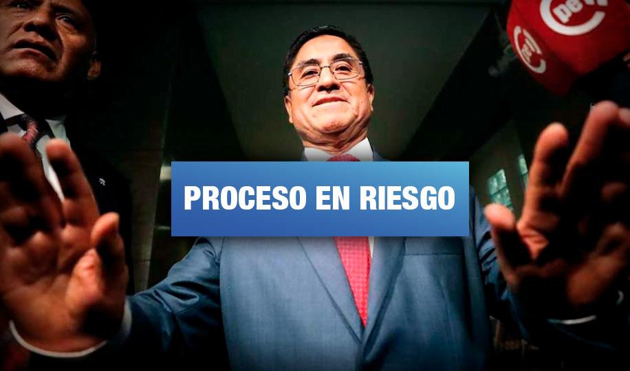 'Cuellos Blancos': Advierten que César Hinostroza pretende anular pruebas