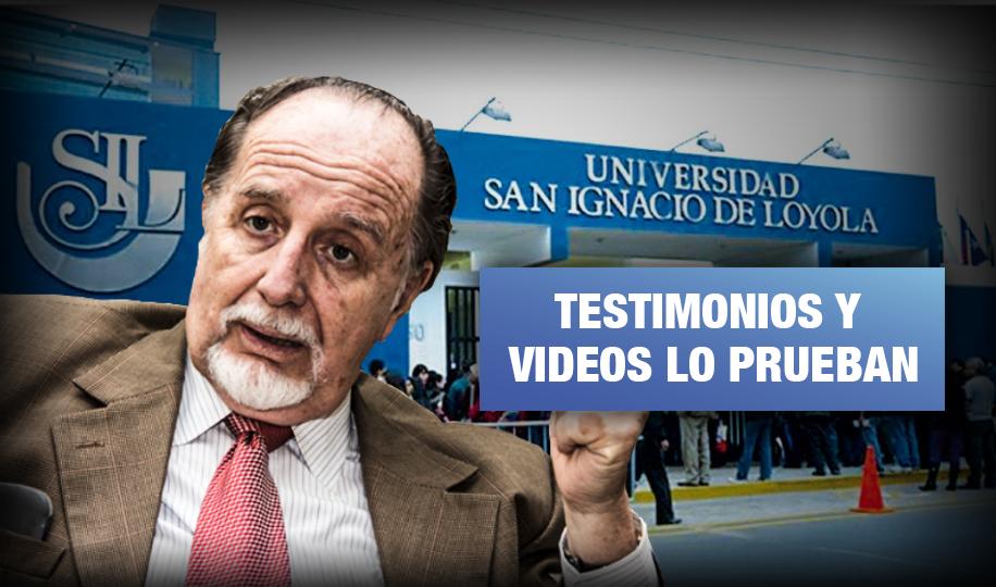 USIL: Alumnas denuncian a excongresista Martín Belaunde por acoso
