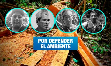 Cuatro líderes ambientales han sido asesinados durante la pandemia