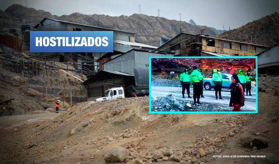 Morococha: Ciudadanos denuncian que minera Chinalco y PNP bloquean acceso a la ciudad