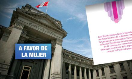 Aborto terapéutico: Archivan demanda de ONG católica que buscaba eliminar protocolo
