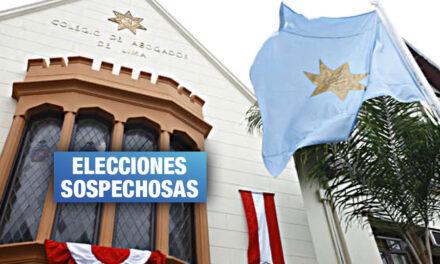 Anulan últimas elecciones en el Colegio de Abogados de Lima por irregularidades