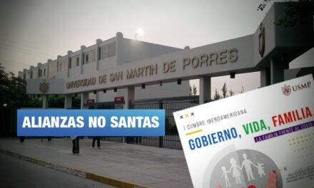 Universidad San Martín promociona evento de opositores al enfoque de género en educación