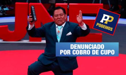 Podemos pide a Comisión de Ética investigar a su congresista Orestes Sánchez