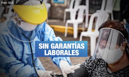 Vizcarra decepciona a trabajadores de la salud, por Wilfredo Ponce y Arlex García