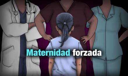 Personal de salud a niña de 13 años: ¿por qué te embarazaste tan pequeña?
