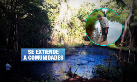 Alertan sobre nuevo derrame de petróleo de Oleoducto Norperuano en Loreto