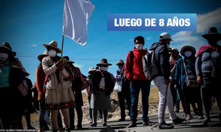 Continúa persecución judicial contra dirigentes de Espinar criminalizados
