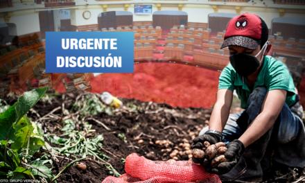 Pleno Agrario: Exigen priorizar debate sobre moratoria al ingreso de transgénicos