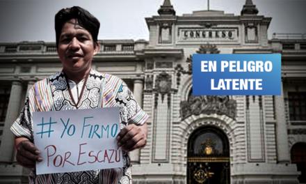 Congreso de espaldas a las amenazas contra defensores ambientales