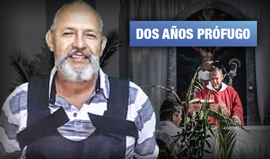 Capturan a sacerdote condenado a 10 años de cárcel por tocamientos indebidos a una niña