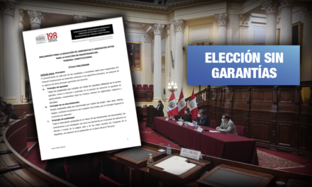 Elección TC: Reglamento 'express' aprobado por comisión del Congreso recibe críticas