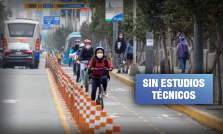 Advierten falta de planificación en ciclovías implementadas por Municipalidad de Lima