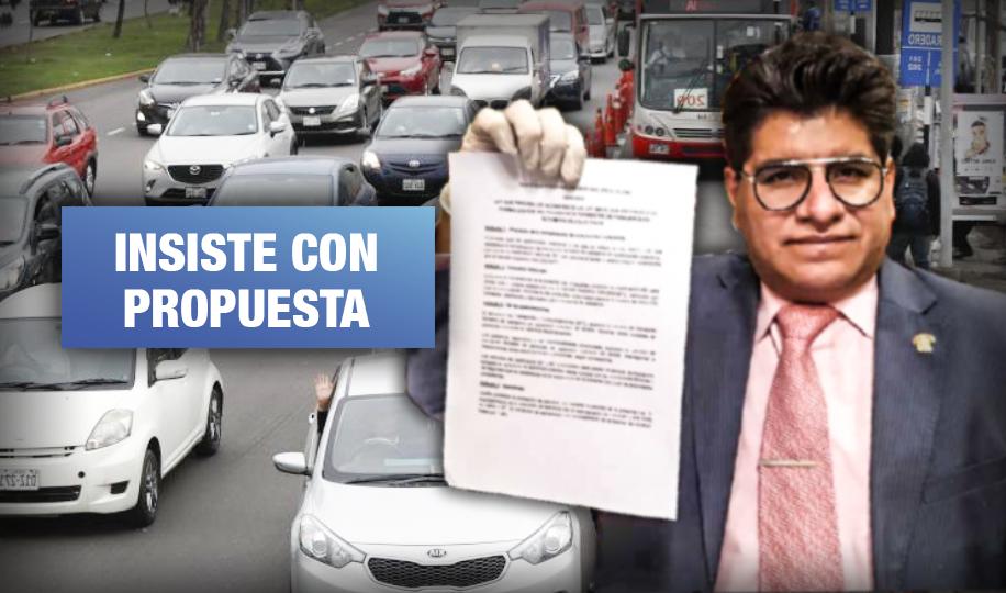 Congresista de Acción Popular presenta nueva ley a favor de colectivos interprovinciales
