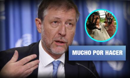 Comisionado de la ONU en Perú: Avances en derechos a favor de comunidades son lentos