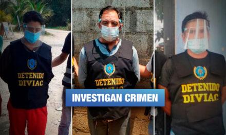 Detienen a tres presuntos implicados en asesinato a defensor ambiental en Madre de Dios