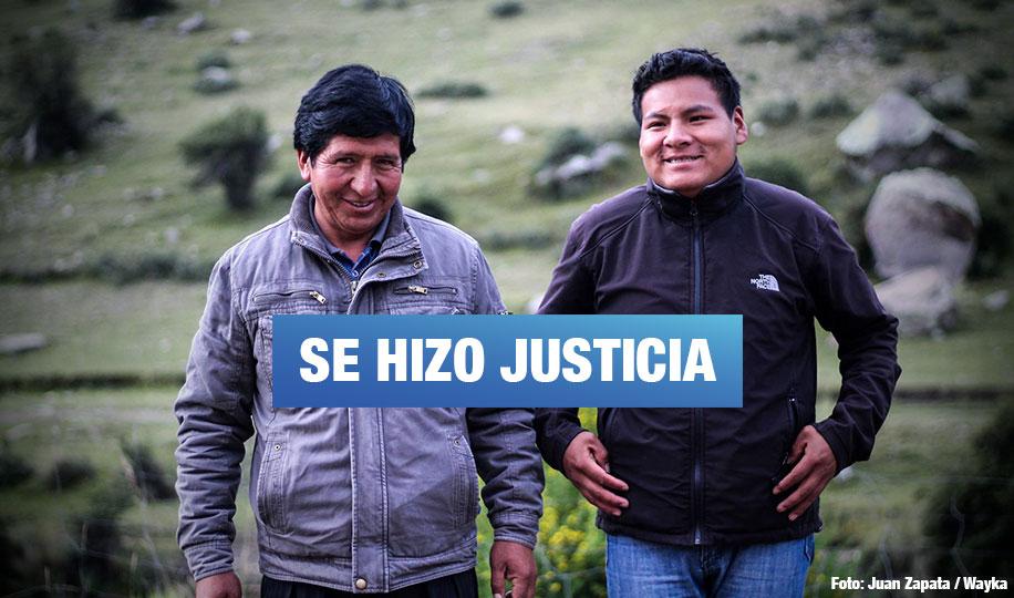 Absuelven a 17 campesinos por protestas contra minera Las Bambas en 2015