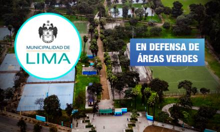 Demandan a la MML por ceder 10 hectáreas de parque Sinchi Roca al Metropolitano