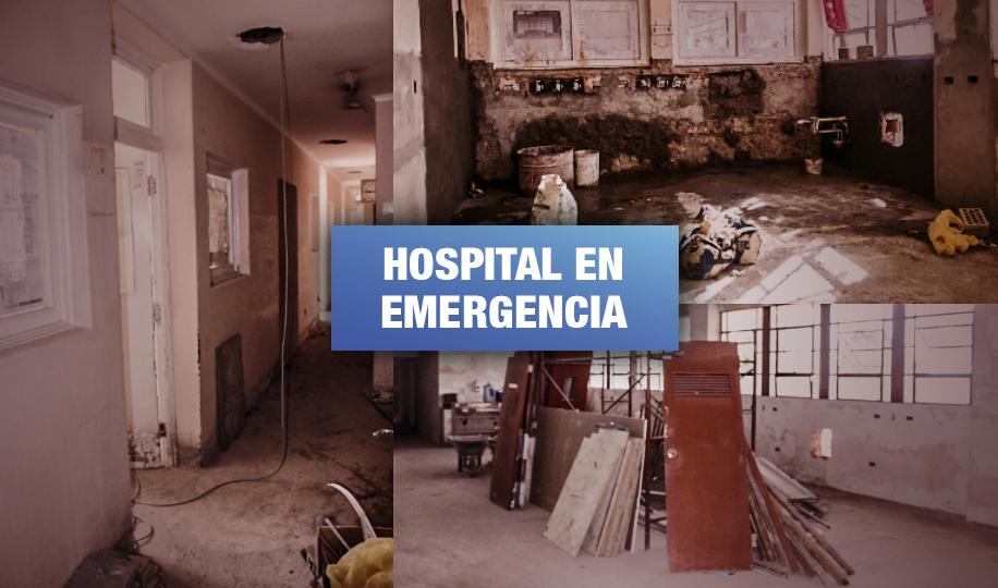 Hospital Covid en abandono por Gobierno Regional de Arequipa
