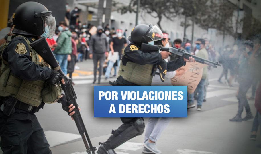 Delegación de la CIDH se reunirá con víctimas de violencia policial por protestas en Perú