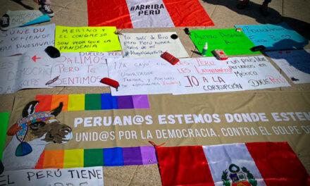 Comunidad peruana en el extranjero exige se juzgue las violaciones a derechos humanos en protestas