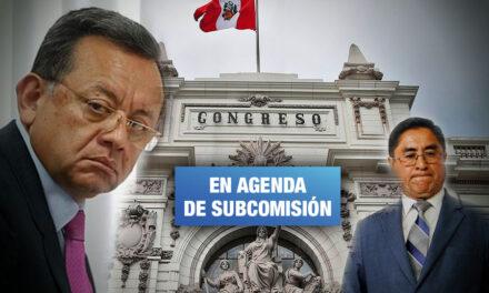 Congreso debatirá denuncias constitucionales contra Edgar Alarcón y César Hinostroza