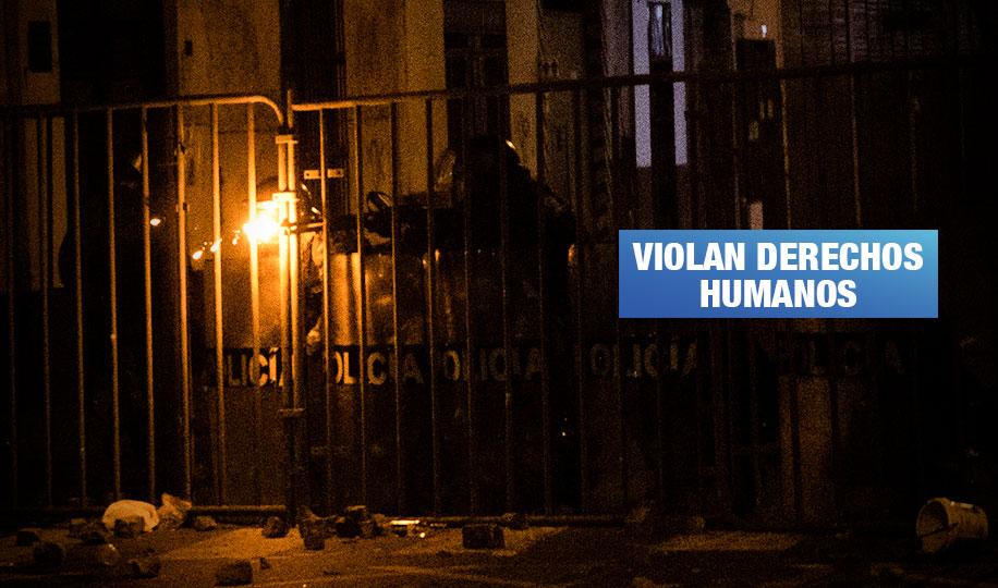 Violenta represión policial deja por lo menos 11 heridos en estallido social