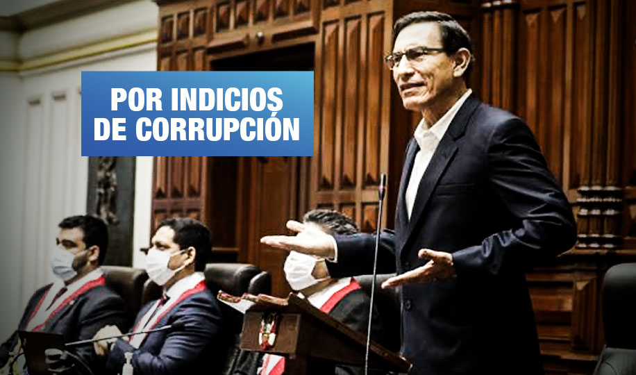 Proponen crear comisión en el Congreso para investigar a Martín Vizcarra