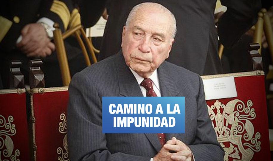 Investigados por lesa humanidad serían beneficiados con fallo a favor de Morales Bermúdez