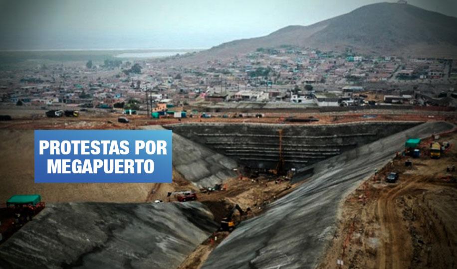Advierten que proyecto portuario de Chancay pone en riesgo bahía y viviendas