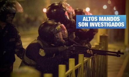 Fiscalía va tras los policías que dispararon contra manifestantes