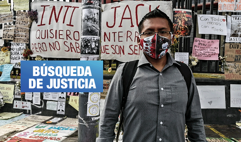 """Pacha Sotelo: «Las pruebas que tenemos del asesinato de Inti son gracias al pueblo"""""""