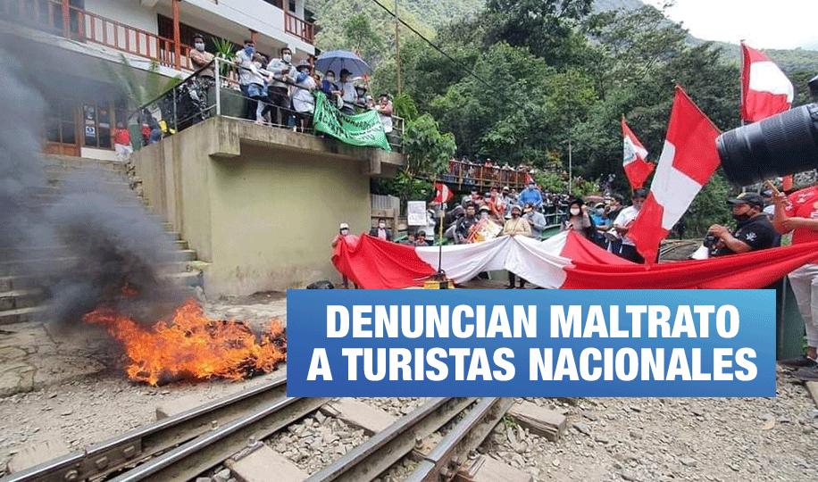 Cusco: Protestas se incrementan contra PeruRail e Inca Rail en Machu Picchu