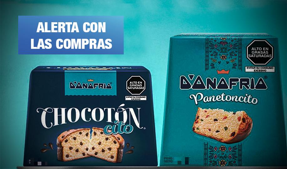 Retiran lotes de Panetoncito y Chocotón de D'Onofrio por denuncias de moho
