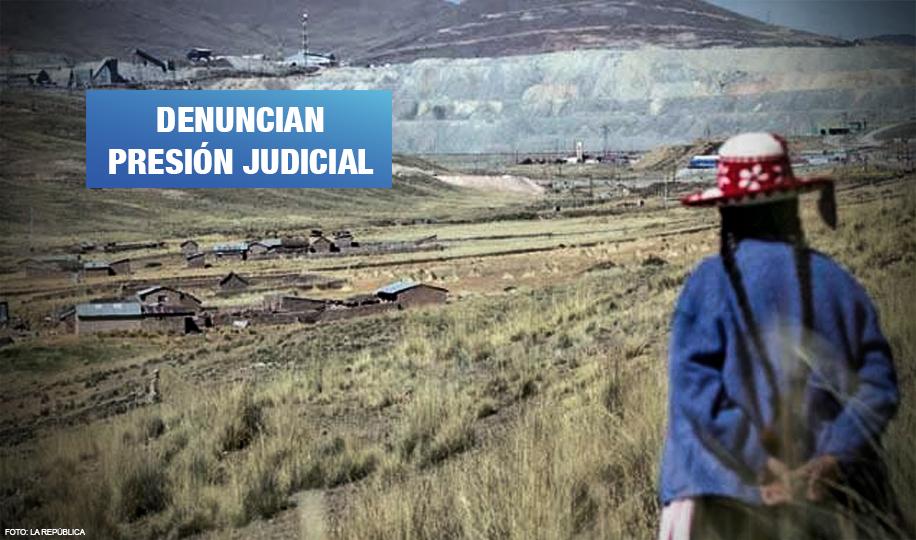 Defensores ambientales exigen frenar la criminalización de la protesta