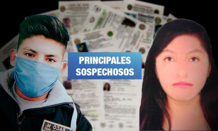 Detienen a policía y su pareja por desaparición de joven de 20 años en Tacna