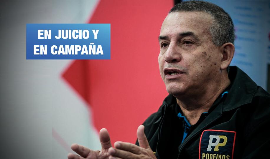 Daniel Urresti solicita inscribir candidatura presidencial mientras avanza juicio por asesinato de Hugo Bustíos