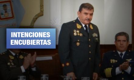 Exministro Cluber Aliaga habría intentado restituir a generales retirados por Sagasti