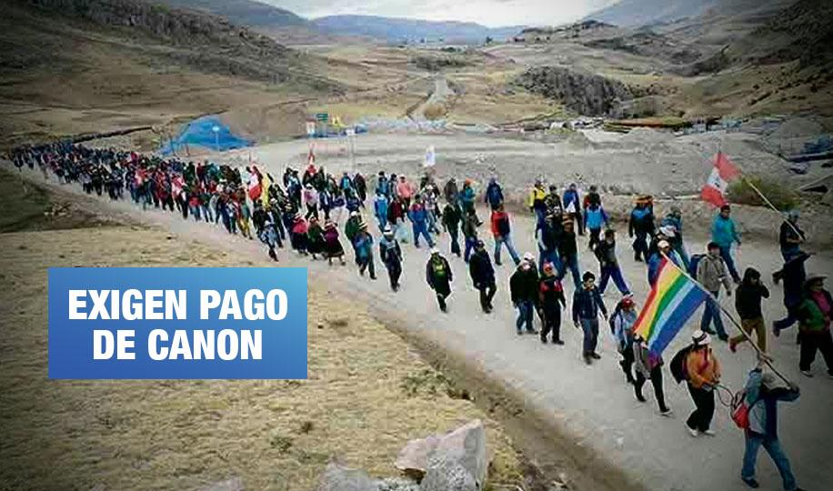 Las Bambas: Comuneros declaran paro indefinido y bloquean corredor minero
