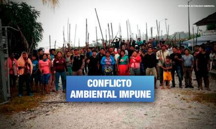 Denuncian a policías y trabajadores de petrolera por muerte de indígenas en Lote 95