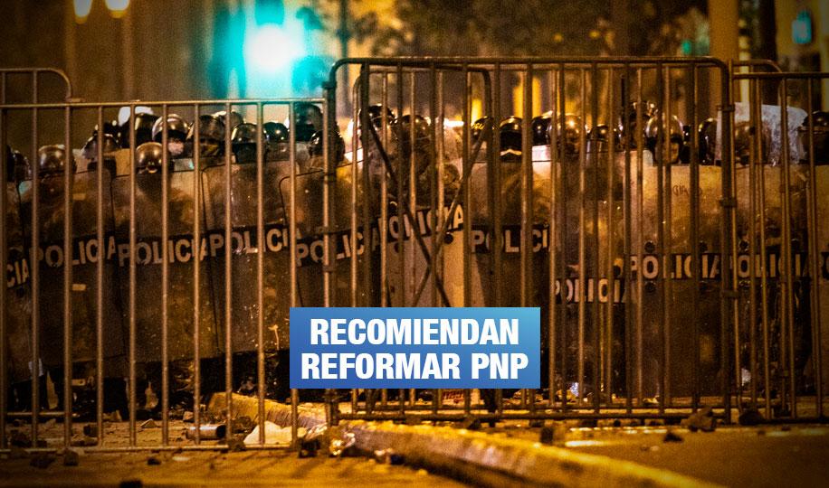 CIDH confirma que represión policial en protestas fue excesiva y desproporcionada