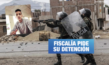Jorge Muñoz: confirman que bala que asesinó a trabajador pertenece al arma del policía José Hoyos
