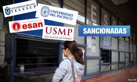 Indecopi multa con más de S/ 11 millones a 26 universidades privadas por cobros ilegales